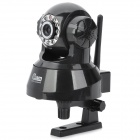 NEO 300KP CMOS Surveillance Security Wireless Network IP Camera w/ 11-LED IR Night Vision - Black