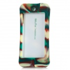Protective Detachable Plastic + Silicone Case for Ipod Touch 5 - Deep Green + Yellow