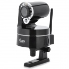 NEO 300KP CMOS Surveillance Security Wi-Fi Wireless IP Camera w/ 12-LED IR Night Vision - Black