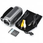 OMG TDV-3121 2.7'' TFT 3.0 MP CMOS Digital Video Camcorder w/ 4X Digital Zoom / Mini USB - Silver