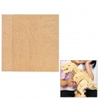 Intelligence Kid's Dinosaur Shape Wooden Mode w/ Pigment + Paint Brush - Wheat