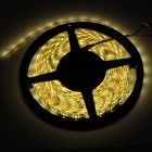 24W 1800lm 300-3528 SMD LED Warm White Light Waterproof Flexible Strip Lamp (5m / 12V)