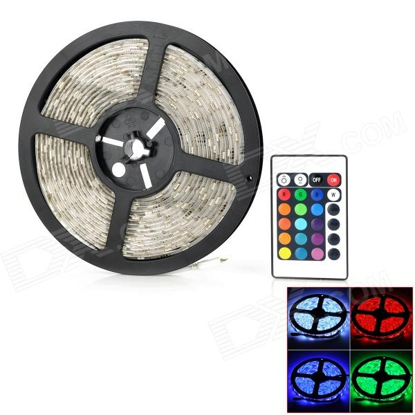 22.5W 2250lm 150-5050 SMD LED RGB + White Light Waterproof Car Flexible Strip Lamp (5m / 12V)