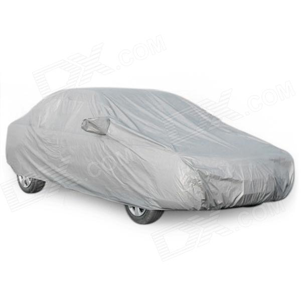 FF073 Water Resistant Dust-Proof Anti-Scratching Car Cover - Silver (Size XXL)