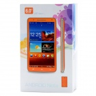 "N9776 Android 4.1.1 WCDMA Bar Phone w/ 6.0"" Capacitive Screen, Wi-Fi, GPS and Dual-SIM - White"