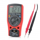 "UNI-T UT50D Digital 2.5"" LCD Voltage / Current / Temperature Measurement Multimeter - Red (1 x 6F22)"