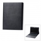 Bluetooth V3.0 76-Key Keyboard w/ Protective PU Leather Case for Samsung Galaxy Tab 2 P5100 - Black