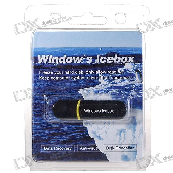 Windows IceBox USB System Restore/Data Recovery Dongle for PC and Laptops
