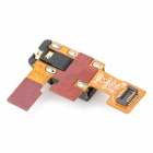 Replacement Earphone Audio Jack Flex Cable for LG Optimus 4X HD P880 - Black + Golden