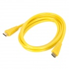 HDMI V1.4 Male to Male Connection Cable for HD TV / Blu-Ray DVD Player / Projector - Yellow