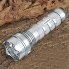 HID-35Y Rechargeable 35W 3200lm 3-Mode White HID Flashlight - Silver