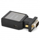 DV-M330 Mini VGA to HDMI Audio Converter - Black
