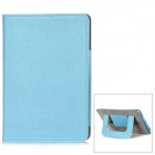 Protective PU Leather + Microfiber Case for Ipad MINI - Blue