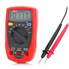 "UNI-T UT33A 2"" LCD Digital Voltage Current Measurement Multimeter - Red + Dark Grey (2 x AAA)"