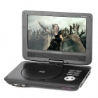 "Avaid AV-D8096T 9"" LCD Wide Screen Rotational Portable DVD Player w/ SD - Black (800 x 480)"