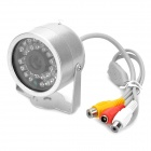 Wireless 1.2GHz RF 30-IR Night-Vision Weatherproof Security Surveillance Camera w/AV Receiver (PAL)