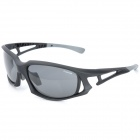 CARSHIRO JL001 UV Protection Riding Resin Lens Polarized Sunglasses for Men - Black (Free Size)