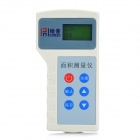 "1.6"" LCD Handheld Multifunction Farmland Area Measuring Instrument Tool- White + Blue"