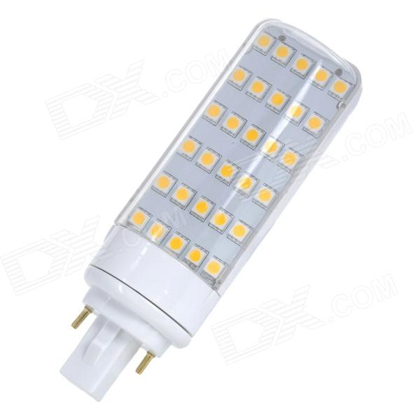 G24 6W 30-5050 SMD LED 420lm 3500K White Light Bulb - White (85~265V)