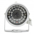 Wireless 1.2GHz RF 30-IR Night-Vision Weatherproof Security Surveillance Camera w/AV Receiver (NTSC)