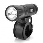 L34 150lm LED White Light Bicycle Lamp - Black (3 x AAA)