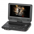 "Avaid AV-D8098T 9"" LCD Wide Screen Rotational Portable DVD Player w/ SD - Black (640 x 234)"