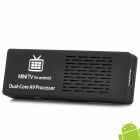 MK808B Dual Core 4,1 Android Google TV Player W / Bluetooth / 1GB RAM / ROM 8 ГБ / TF / HDMI - черный