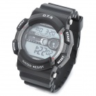 OTS 6900G Fashion Water Resistant Sport Digital Wrist Watch - Black (1 x CR2025)
