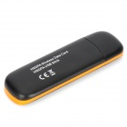 ZW-H06 7.2Mbps USB 2.0 HSUPA / HSDPA 3G Networking Adapter w/ TF - Black + Orange