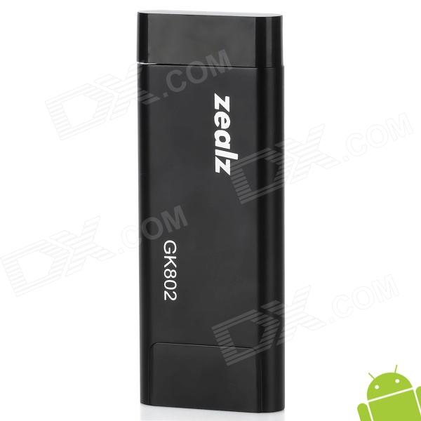 GK802 Quad Core Google TV Player Supports XBMC / Netflix w/ Bluetooth / 1GB RAM / 8GB ROM - Black