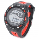 OTS T6928G Fashion Men's Water Resistant Sport Digital Wrist Watch - Black (1 x CR2025)