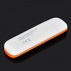ZW-H06 7.2Mbps USB 2.0 HSUPA / HSDPA 3G Networking Adapter w/ TF - White + Orange