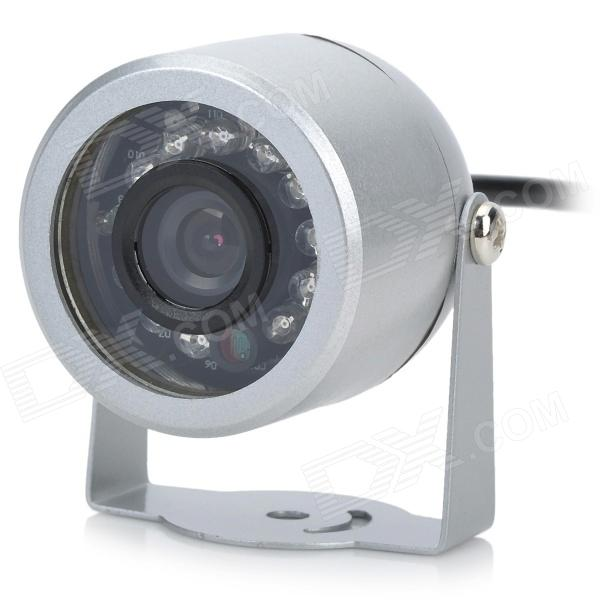 12-IR Night-Vision Weatherproof Surveillance Security Camera with Audio Sound (NTSC) unitoptek outdoor 2mp tvi camera 1080p ir bullet weatherproof 20m ir bullet security cctv hdtvi camera 720p work for tvi dvr