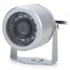 12-IR Night-Vision Weatherproof Surveillance Security Camera with Audio Sound (NTSC)