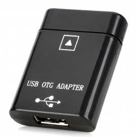 USB OTG Adapter for ASUS Eee Pad TF300T / TF201 / TF101 / TF700T / TF300 / TF301 + More - Black
