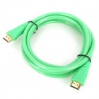 HDMI 1.4 Male to Male Connection Cable - Green (1.8m)
