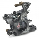 97187 Cast Iron Shader / Liner 2-in-1 Tattoo Machine - Grau