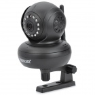 Wanscam JW0002 300KP Indoor Wireless IP Network Camera w/ 13-LED IR Night Vision - Black