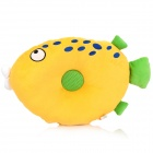 Cute Style Music Playing Cushion Pillow - Yellow + Green (3.5mm Plug)