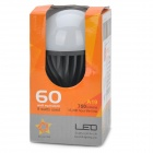 B2-LF-86 E27 8W 750lm 3000K 49-A19 Warm White LED Bulb - Black + White