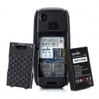 Sonim S9 GSM Bar Phone w/ 2.0&quot; LCD Screen, Quad-Band, Dual-SIM and FM - Black