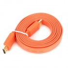 Gold-plated 1080P HDMI 1.4 Male to Male Connection Cable - Orange (150cm)