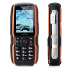 "Sonim S9 GSM Rugged Phone w / 2,0 ""-Bildschirm, Quad-Band, Dual-SIM-Karte und FM - Orange + Schwarz"