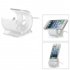 USB 8-Pin Lightning Charging Dock for iPhone 5 - White