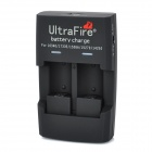 UltraFire UF-726 Battery Charger for lCR123A / CR2 / 14250 - Black (100~240V / US Plug)