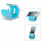 Data Transmission / Charging Dock + USB to 8-Pin Lightning Cable for iPhone 5 - Blue