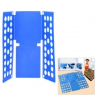 Dress T-Shirt Clothes Flip Fold Folder Board Organizer - Blue