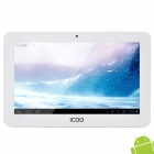 ICOO D50 7'' Capacitive Screen Android 4.0 Tablet PC w / Wi-Fi / 3G / TF / 3D Game / Camera - White