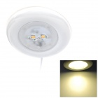 JOYDA JOY-MCU WW 4W 135lm 3300K 2-LED Warm White Light Ambry Lamp - White (DC 12V / 3.8m-Cable)