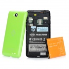 T6198 Android 2.3 GSM Smartphone w/ 4.3&quot; Capacitive Screen, Dual-Band, Wi-Fi and Dual-SIM - Green